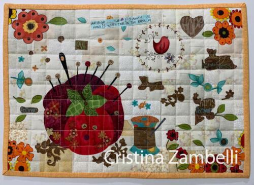 Collage e Fundo Improvisado. Autor: Cristina Zambelli